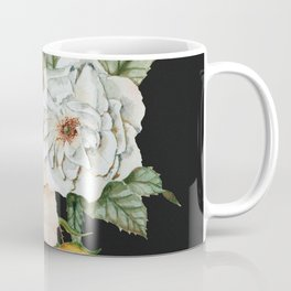Wildflower Bouquet on Charcoal Coffee Mug