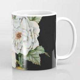 Wildflower Bouquet on Charcoal Coffee Mug