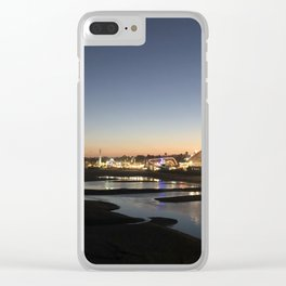 Evening Views Clear iPhone Case