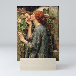 John Williams Waterhouse - The Soul of the Rose Mini Art Print