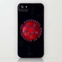THE WONDERFUL WORLD OF WICCANS - 060 iPhone Case