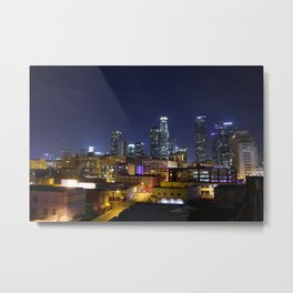 Photography in Downtown. Metal Print