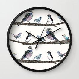 Birds: 2 Wall Clock
