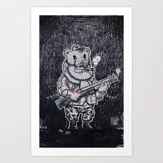 Open season Art Print