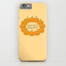Pumpkin Pie iPhone 6s Slim Case