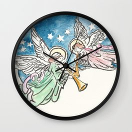 Angelic Hymn Wall Clock