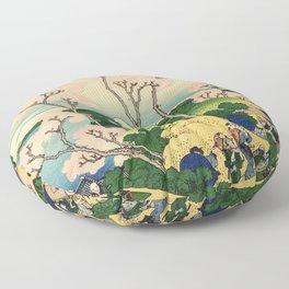 Fuji from Goten-Yama (High Resolution) Floor Pillow
