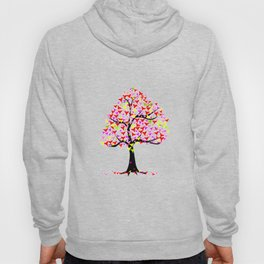Summer Hearts Tree Hoody