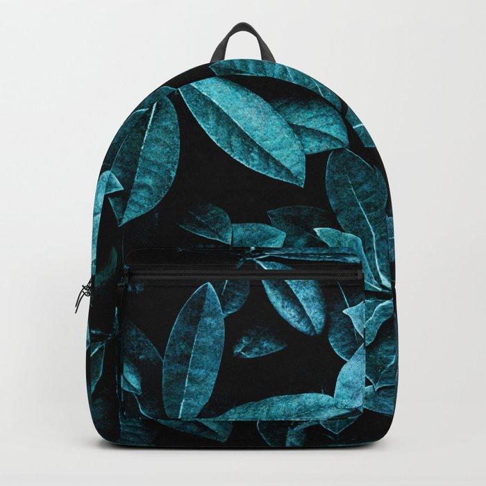 TEAL LEAVES Backpack