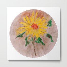 Flor IX (Flower IX) Metal Print