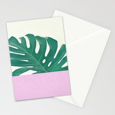 Monstera Dip Stationery Cards