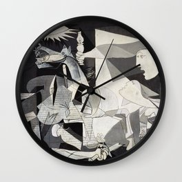 Pablo Picasso Guernica 1937 Artwork Shirt, Art Reproduction for Prints Posters Tshirts Men Women Wall Clock