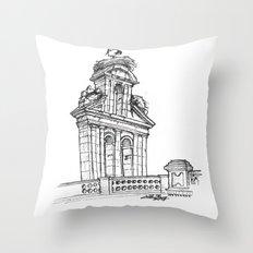 Bell gable Throw Pillow