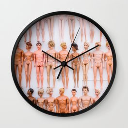Living In A Barbie World Wall Clock