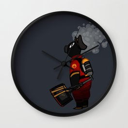 Gas Jockey Wall Clock