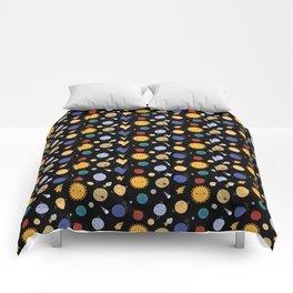 Kawaii Solar System Comforters