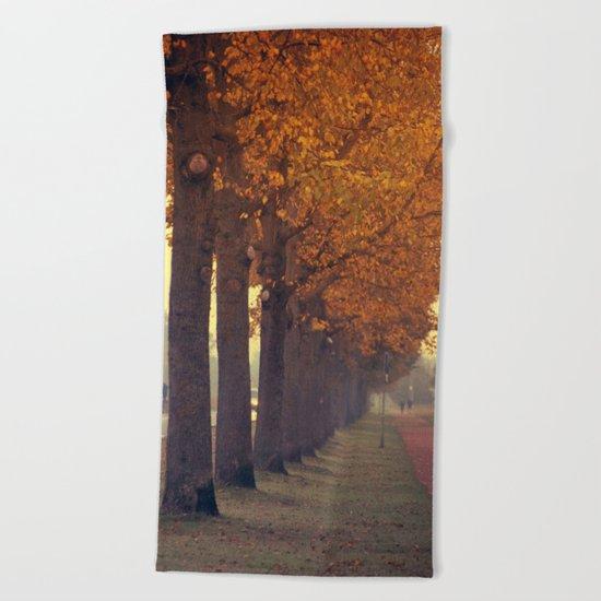 Autumn scenery #2 Beach Towel
