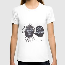 Michael Foot portrait T-shirt