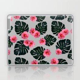 Tropical pattern n.1 - grey Laptop & iPad Skin