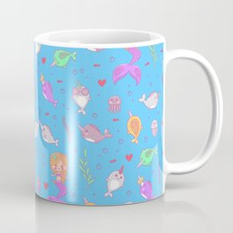 Narwhal and friends Coffee Mug