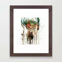 DEER IV Framed Art Print