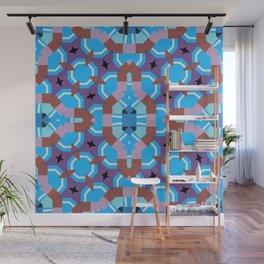 blue sleep Wall Mural