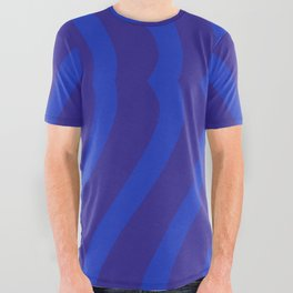 Bluesy Twist All Over Graphic Tee