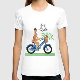 Hansel the Hare Biking T-shirt