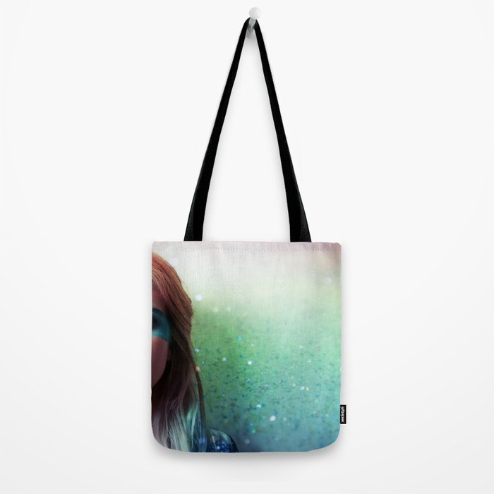 Glitter and grease. Tote Bag