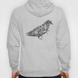 Roly the Steampunk Pigeon Hoody