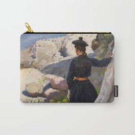Paul Fischer - On the Coast (1890) Carry-All Pouch