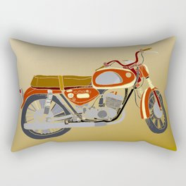 Vintage Motorcycle Gems II Rectangular Pillow