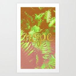 No just nope Art Print
