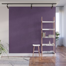 Elegant lilac lavender faux leather texture Wall Mural