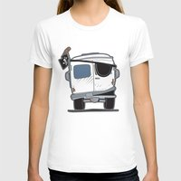 booty T-shirts featuring The Booty Wagon by Brandon Ortwein