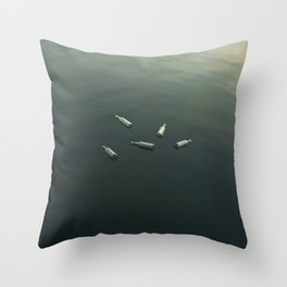 Floating still life Throw Pillow