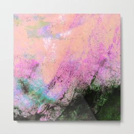 AN ABSTRACT SUMMER DAY Metal Print