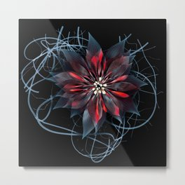 Night Bloom Metal Print