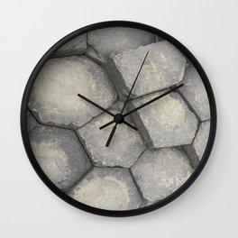 Giants causeway Wall Clock