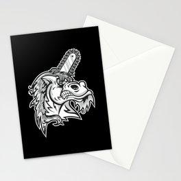 Unicorn - Hardcore Style - dark Stationery Cards