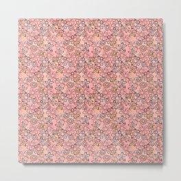 Flower Art - Pink Metal Print