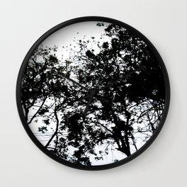 Natural Ink Splash Wall Clock