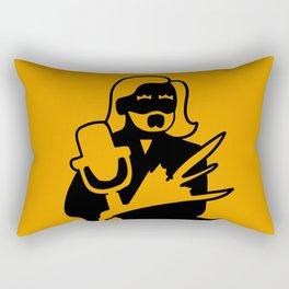 U-Bahn Sitzplätze: Conchita Wurst Rectangular Pillow