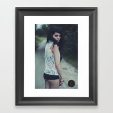 YOUNG & SCARED Framed Art Print