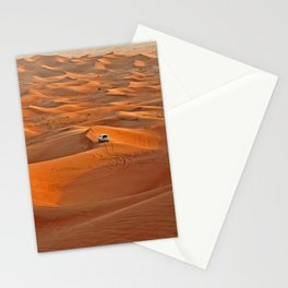 Drive through the desert, Emirates Stationery Cards