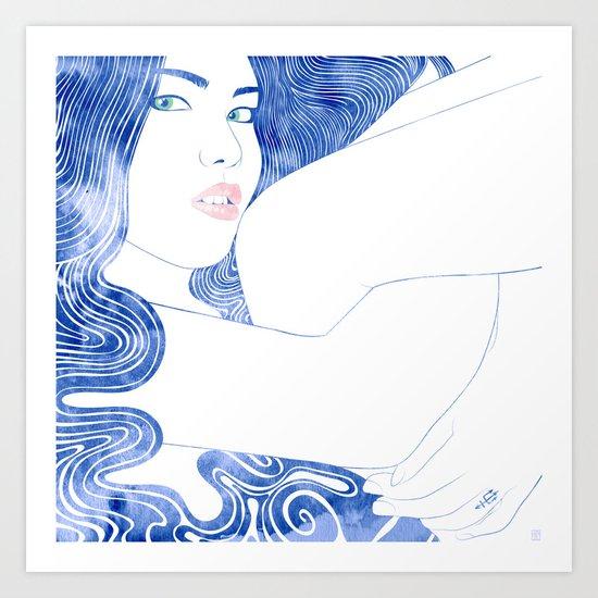 Nereid III Art Print
