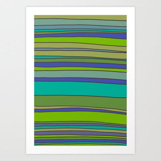 Stripes No. 2 Art Print