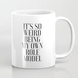 PRINTABLE Art, Mindy Project, Role Model, Mindy Kaling, Mindy Lahiri, Fashion Print,Girls Room Decor Coffee Mug