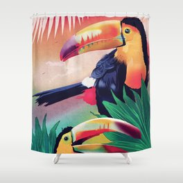 The Too Too Cans Shower Curtain