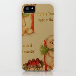 THE MAGIC OF CHRISTMAS iPhone Case